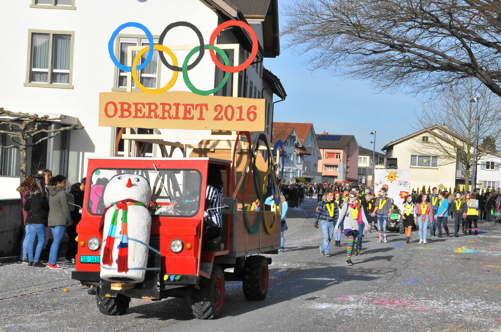 Fasnacht Umzug Oberriet 2016 137